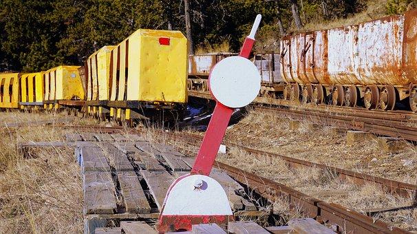Material, Railway, Infrastructure, Miner, Train, Wagon