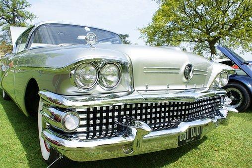 Buick, Car, Automobile, 1959, Classic Car, Old Car