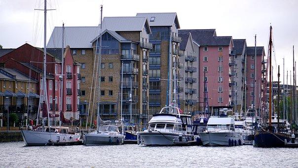 Boats, Harbour, Bay, Port, Water, Sailboat, Marina