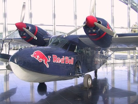 Red Bull, Aircraft, Propeller, Flyer, Exhibition