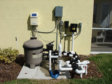 Pump, Pool Filter, Water Pump, Pool, Filter, Industry