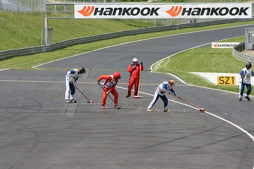 Car Racing, Accident, Race Track, Red-bull Ring