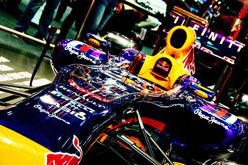 Racing Car, Fair, Auto, Car Show, Red Bull, Formula 1