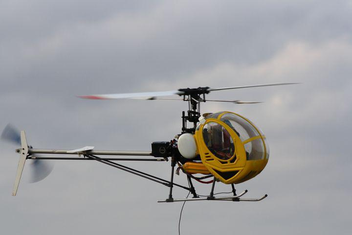 Rc Model Making, Helicopter, Model, Scale Model Making