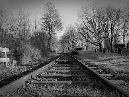 Gleise, Railway Tracks, Seemed, Railroad Tracks