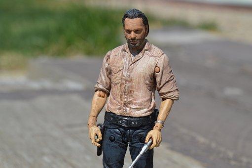 Rick Grimes, The Walking Dead, Zombie, Apocalypse, Tv