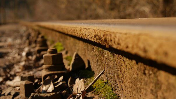 Track, Pebble, Train, Railroad Track, Stainless