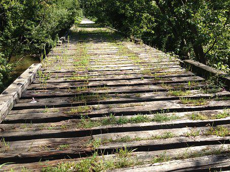 Trail, Railroad Bed, Railway, Old, Back Road