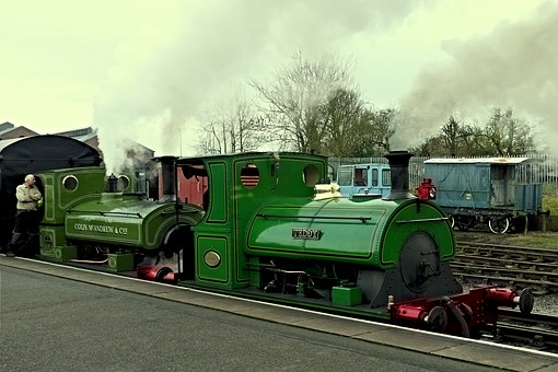 Train, Steam, Steam Train, Locomotive, Transportation