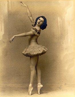 Ballerina, Vintage, Ballet, Girl, Dancer, Tutu