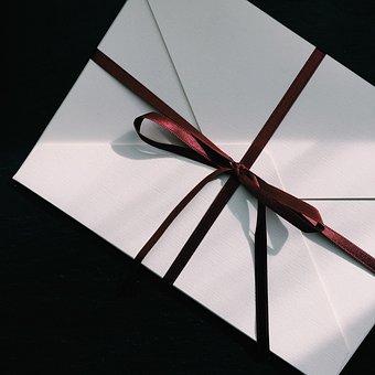 Letter, Right Now, White Envelope, Surprise