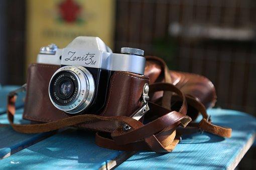 Camera, Zenith, Summer, Photographer, Photo, Photos