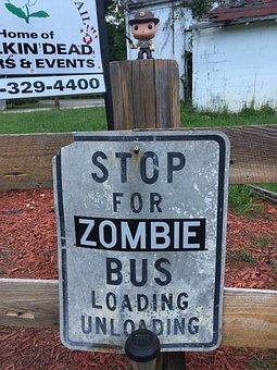 Zombie, Walking Dead, Terminus