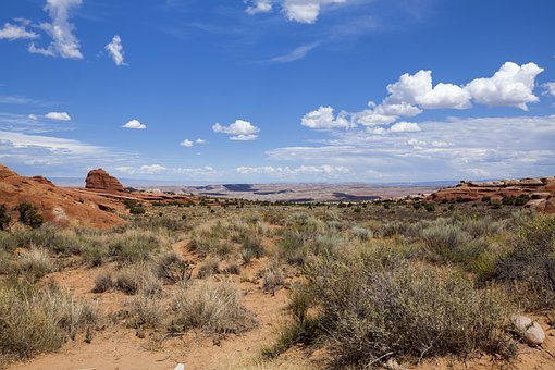 Arches National Park, Sandstone, Utah, Moab, Landscape