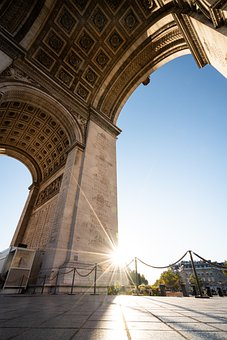 Monument, Triumph, Champs-elysees, Architecture, City