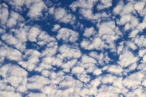 Cirrocumulus, Fleecy, Clouds, Clouded Sky, Clouds Form