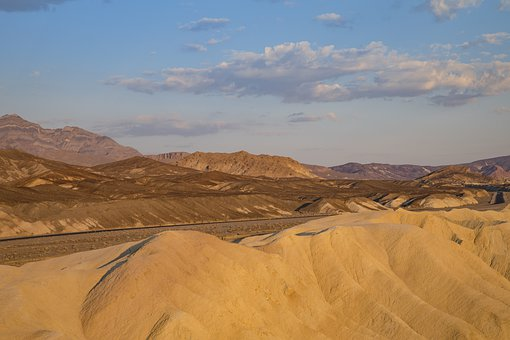 Death Valley, California, Desert, Nature, Landscape