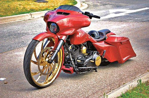 Motorcycle, Motorbike, Vehicle, Engine, Wheels