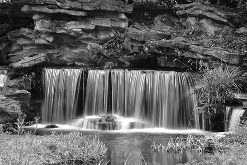 Cascade, Water, Nature, River, Creek, Landscape, Wet