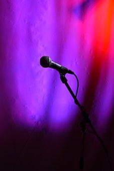 Microphone, Clip, Tripod, Sm58