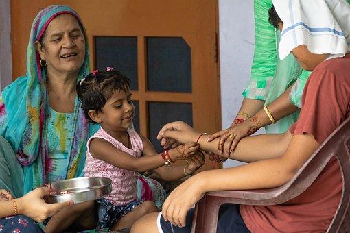 Celebration, Rakhi, Rakshabandhan, Traditional, Sibling