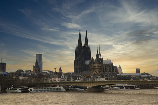 Cologne, Dom, Germany, Building, Rhine, Architecture