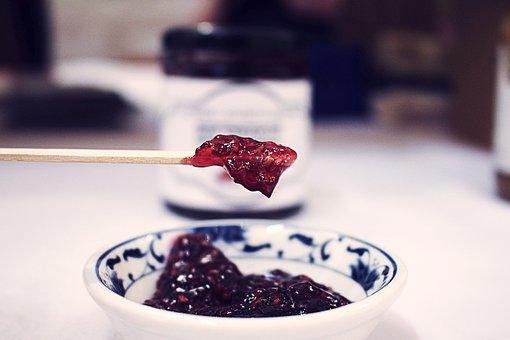 Jam, Jelly, Jar, Sweet, Food, Fruit, Preserve, Toast