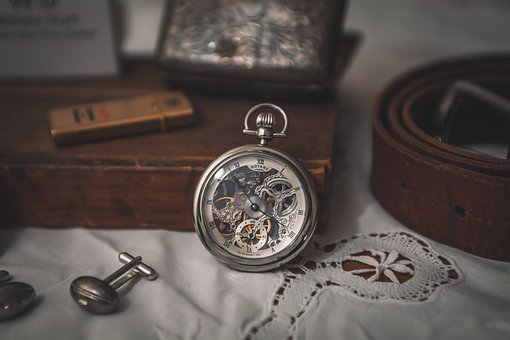 Pocket Watch, Watch, Vintage, Old, Antique, Accessory