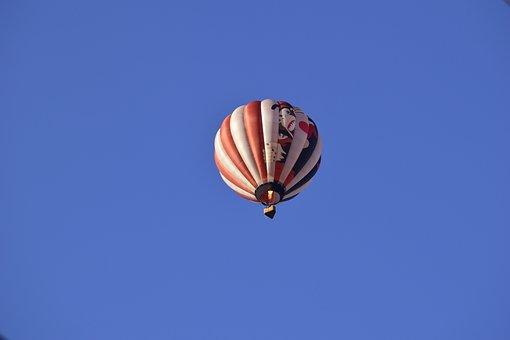 Hot Air Balloon, Balloon, Gorilla, Ape, Monkey, Animal