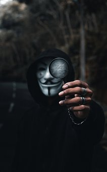 Man, Model, Mask, Anonymous, Character