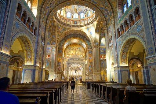 Church, Interior, Architecture, Religion, Prayer Space