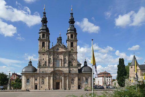 High Cathedral Of Fulda, Dom, Cathedral, Church