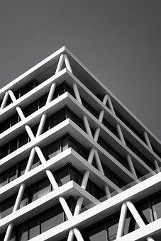 House, Building, Window, Apartment, Construction
