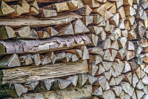 Woodshed, Firewood, Lumber, Lumber Yard, Woodcutter