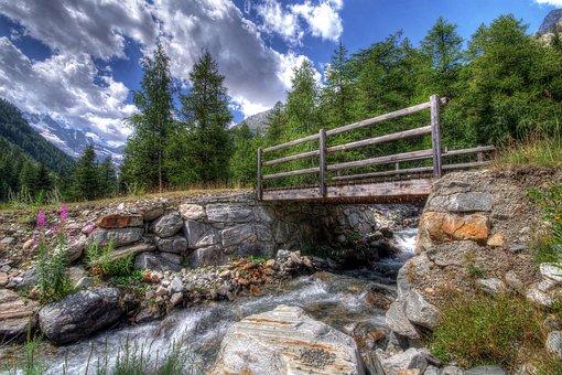 Mountain, Alps, Italy, National Park, Valle D'aosta
