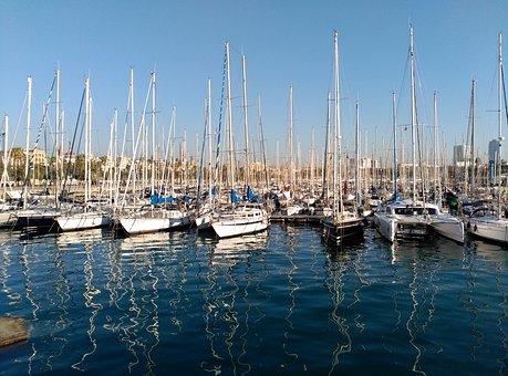 Boat, Port, Sailboats, Boats, Ships, Sea, Harbour