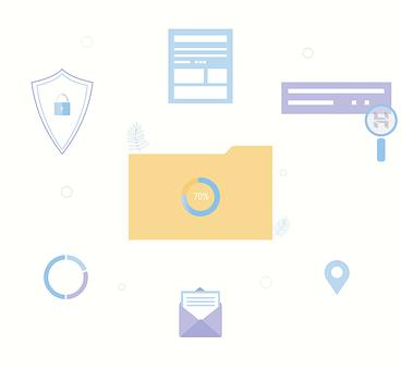 Folder, Icon, Document, File, Hosting, Web Hosting