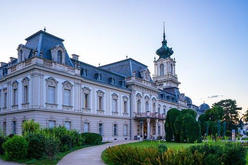 Castle, Balaton, Lake Balaton, Palace, Baroque Palace