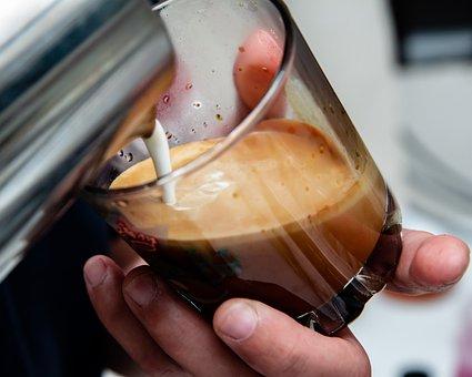 Coffee, Drink, Foam, Espresso, Cafe