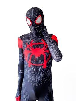 Person, Costume, Superhero, Hero, Spider-man, Zentai