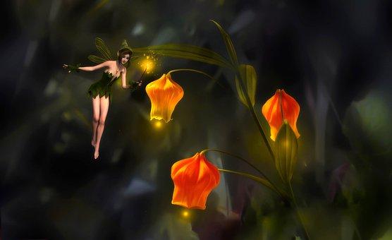 Fantasy, Magical, Flowers, Magic, Fairy, Mystical