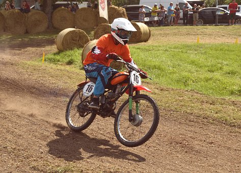Motocross, Motorcycle, Motorbike, Dirt Bike, Sports