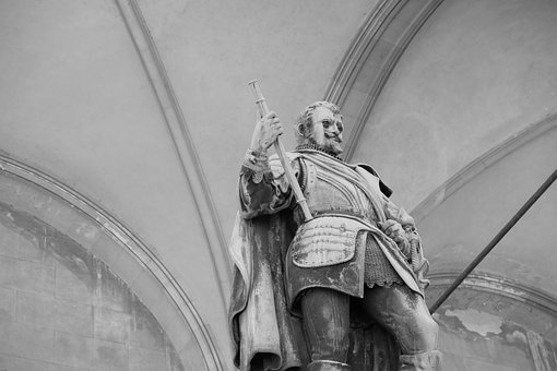 Monument, Statue, Sculpture, Johann Tserclaes