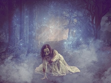 Spirit, Ghost, Creepy, Scary, Spooky, Zombie, Horror
