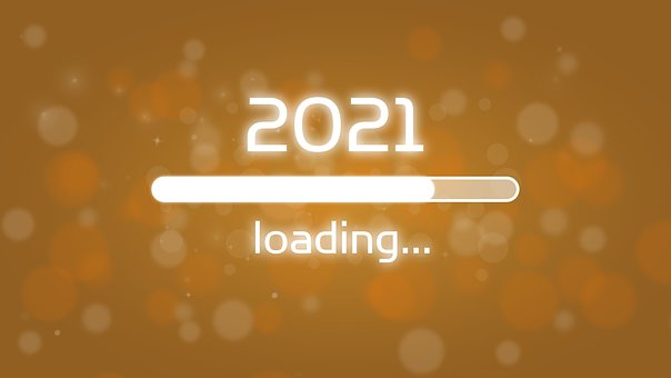 Loading Bar, 2021, New Year's Eve, New Year's Day
