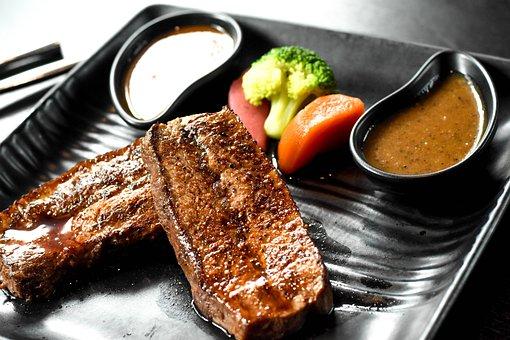 Meal, Dish, Cuisine, Beef Steak, Roast Beef