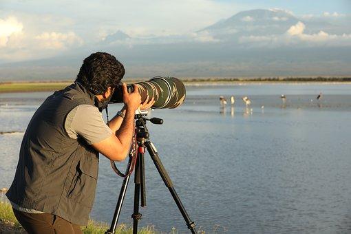 Camera, Lens, Photographer, Technology, Filming, Worker