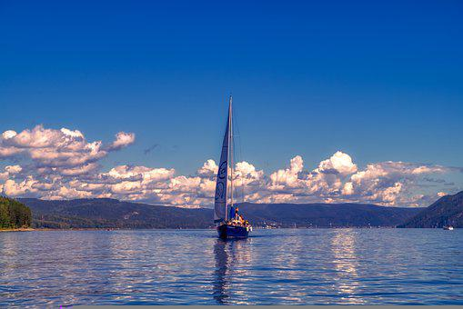 Sea, Lake, Water, Boat, Sailing Boat, Sailboat