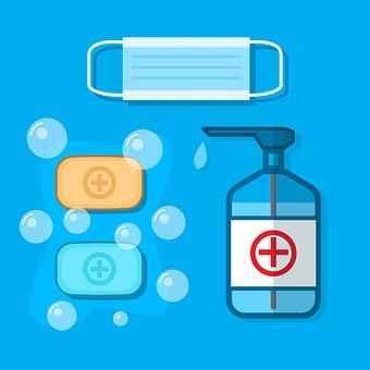 Sanitizers, Hand Wash, Covid-19, Hygiene, Soap, Health
