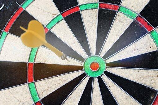 Dartboard, Dart, Target, Aim, Board, Sport, Fail, Miss